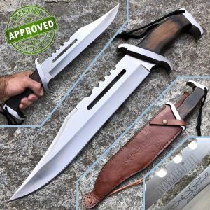 Hollywood Collectibles Group - Rambo III knife - PRIVATE COLLECTION - First Blood with John Rambo Signature - knife