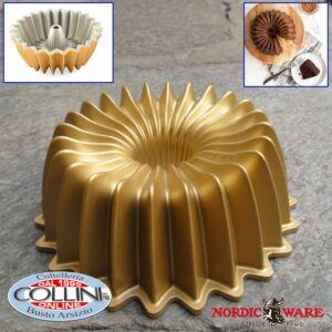 Nordic Ware - Mini Gold Brilliant Bundt Pan