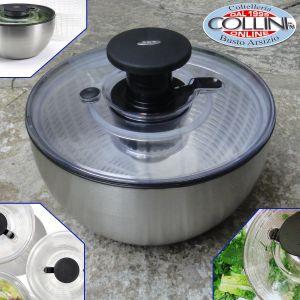 Oxo - Steel Salad Spinner