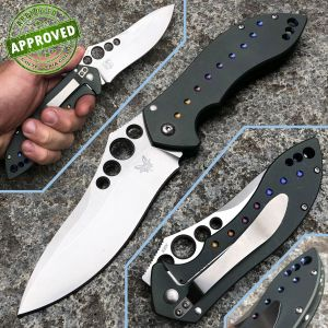 Benchmade - Skirmish Titanium Knife 630 - PRIVATE COLLECTION - knife