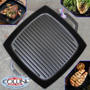 Staub - 33cm Square Cast Iron Double Handle Grill Pan