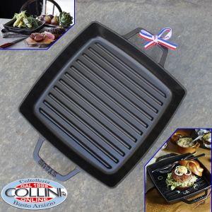 Staub - 23 cm  Square Cast Iron Double Handle Grill Pan