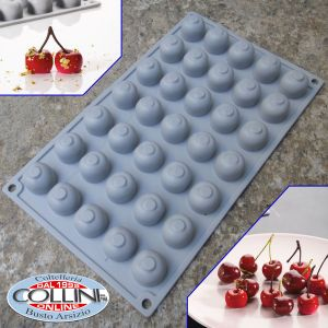 Pavoni - Pavoni - Silicone mold CHERRIE - 35 portions