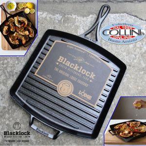 Lodge - Blacklock Triple Seasoned Cast Iron Grill Pan - BL65GP