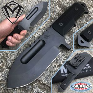 Medford Knife and Tools - Seawolf Black Knife - PRIVATE COLLECTION - knife