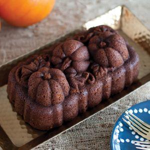 Nordic Ware -  Botanical Pumpkin Loaf Pan