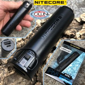 Nitecore - NPB1 - 5000mAh IP68 Waterproof Power Bank and battery pack for HU60 - powerbank