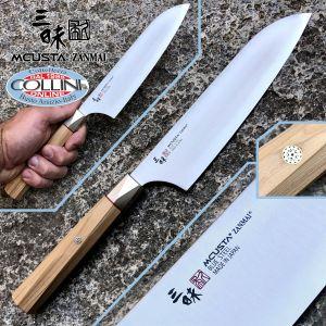 Mcusta Zanmai - Beyond Santoku knife 18cm - Aogami Super steel - ZBX-5003B - kitchen knife