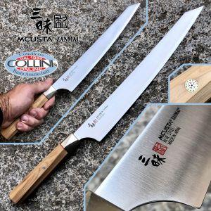 Mcusta Zanmai - Beyond Sujihiki slicing knife 27cm - Aogami Super steel - ZBX-5011B - kitchen knife