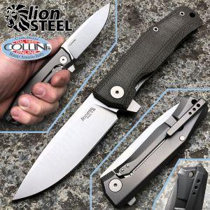 Lionsteel - Myto knife - Green micarta and titanium - MT01CVG - knife