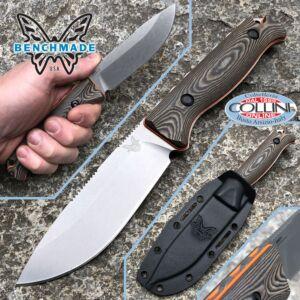 Benchmade - Saddle Mountain Skinner knife CPM-S90V - 15002-1 - fixed knife