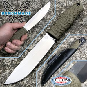 Benchmade - Leuku knife - 202 - CPM-3V - fixed knife