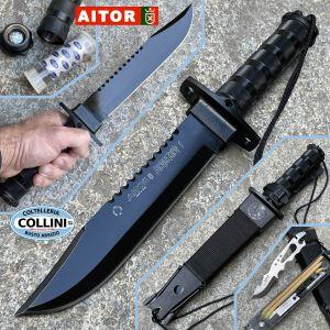 Aitor - Jungle King I knife Black - 16016N - knife