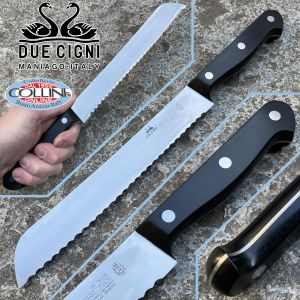 Due Cigni - Classic Line 2C - bread knife 20cm - 761/20 - kitchen knife
