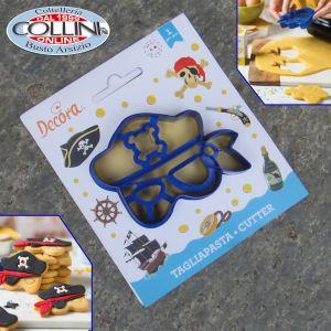 Decora - Pirate mask cookie cutter
