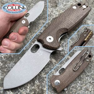 Fox - Baby Core by Vox - FX-608MC - Natural Micarta - knife