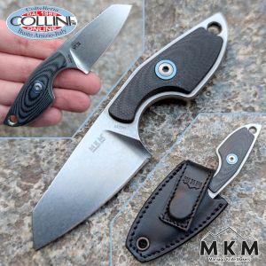 MKM & Mercury - Mikro 2 by Vox - Black G10 - MK MR02-GBK - neck knife