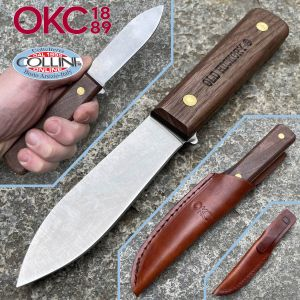 Ontario Knife Company - Fish and Small Game Knife with leather sheath - 7024 - knife