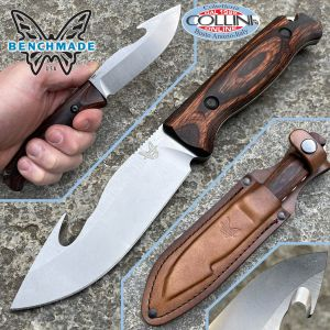 Benchmade - Saddle Mountain Skinner with Hook - CPM-S30V - 15004 - fixed knife