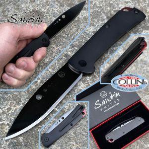 Sandrin knives - Sandrin knives - Dellatorre SK-1 Slipjoint knife - Tungsten Carbide Blade - DLC black coating - knife