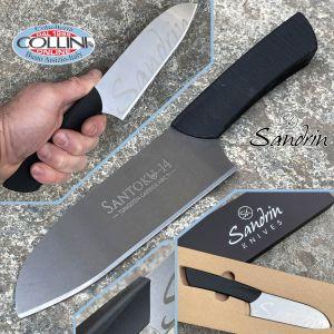 Sandrin knives - Santoku Kitchen Knife - Tungsten Carbide Blade - 14 cm - knife