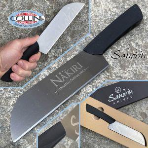 Sandrin knives - Nakiri Kitchen Knife - Tungsten Carbide Blade - 18 cm - knife