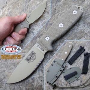 ESEE Knives - Esee-3 Desert Tan Survival - coltello