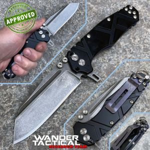 Wander Tactical - Mistral Folder Gen.III - Stonewashed - PRIVATE COLLECTION - folding knife