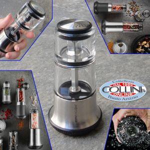 Gefu - Pepper mill with salt shaker X-PLOSION