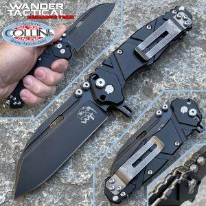 Wander Tactical - Hurricane Folder knife Gen. III - Drop Black PVD - folding knife