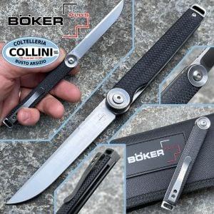 Boker Plus - Kaizen Flipper Black G10 - 01BO390 - folding knife