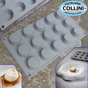 Pavoni - Silicone mold RICOTTA by Davide Oldani 15 servings