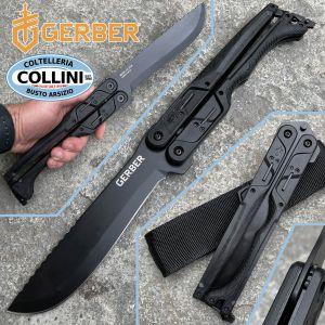 Gerber - DoubleDown Folding Machete Black - G31-001530N - knife