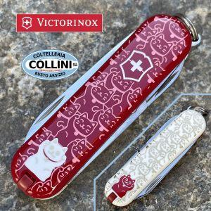 Victorinox - Lucky Cat - Classic 58mm - Limited Edition 2021 - 0.6223.L2106 - Coltello