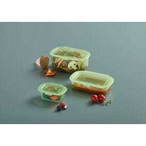 Lékué - Set of 3 reusable silicone boxes