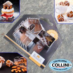 Birkmann - Cup cookies Gingerbreadhouse
