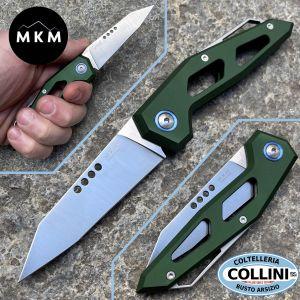 MKM - Edge - SlipJoint by Graciut - Aluminium Green - MKEG-AGR - knife