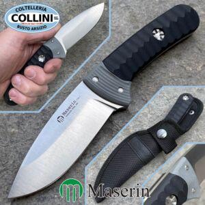 Maserin - SAX knife - G10 Black / Gray - 975 / LG10NG - knife