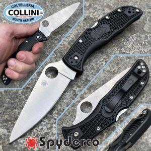 Spyderco - Endela - Plain Black - C243PBK - Knife