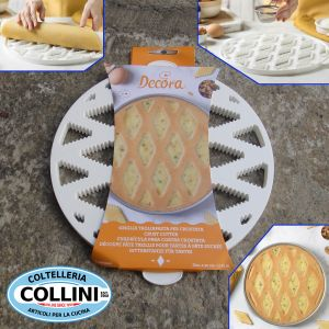 Decora - Pasta cutter grill for tart and pastiera