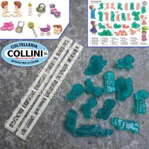 JEM - Baby-Nursery themed sugarpaste cutters set - CAKE DESIGN - PROMO