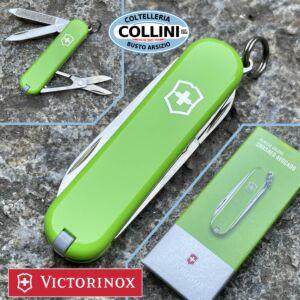 Victorinox - Smashed Avocado - Classic SD Colors 58mm - 0.6223.43G - Coltello