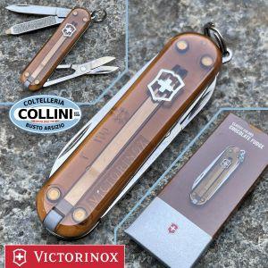 Victorinox - Chocolate Fudge - Classic SD Colors 58mm - 0.6223.T55G - Coltello