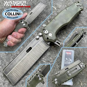 Wander Tactical - Franken Folder - Mozzetta Blade - Limited Edition - handmade knife