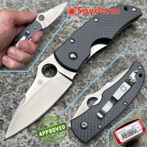 Spyderco - Michael Walker 2010 Sprint Run - ZDP-189 & Carbon Fiber - PRIVATE COLLECTION - C22CFPE - knife