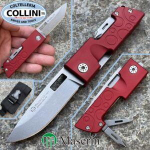Maserin - D-Dut Multi Tool - Red - 214R - multipurpose knife