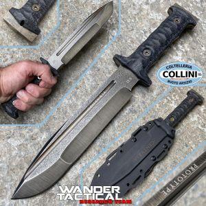Wander Tactical - Centuria - Serial IX - Prototype Limited Edition - Custom Knife