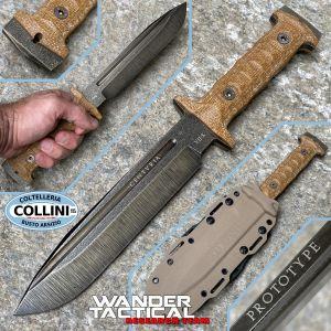 Wander Tactical - Centuria - Serial VII - Prototype Limited Edition - Custom Knife