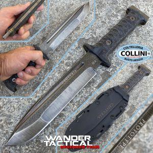 Wander Tactical - Centuria knife - Serial VIII - Prototype Limited Edition - Custom knife