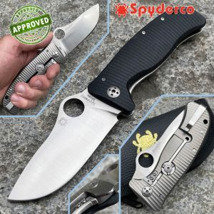 Spyderco - LionSpy Folding Pocket Knife - PERSONAL COLLECTION - C157GTIP - collection knife